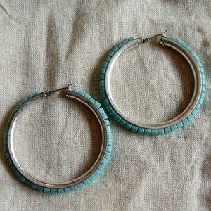 Luck brand Turquoise earrings